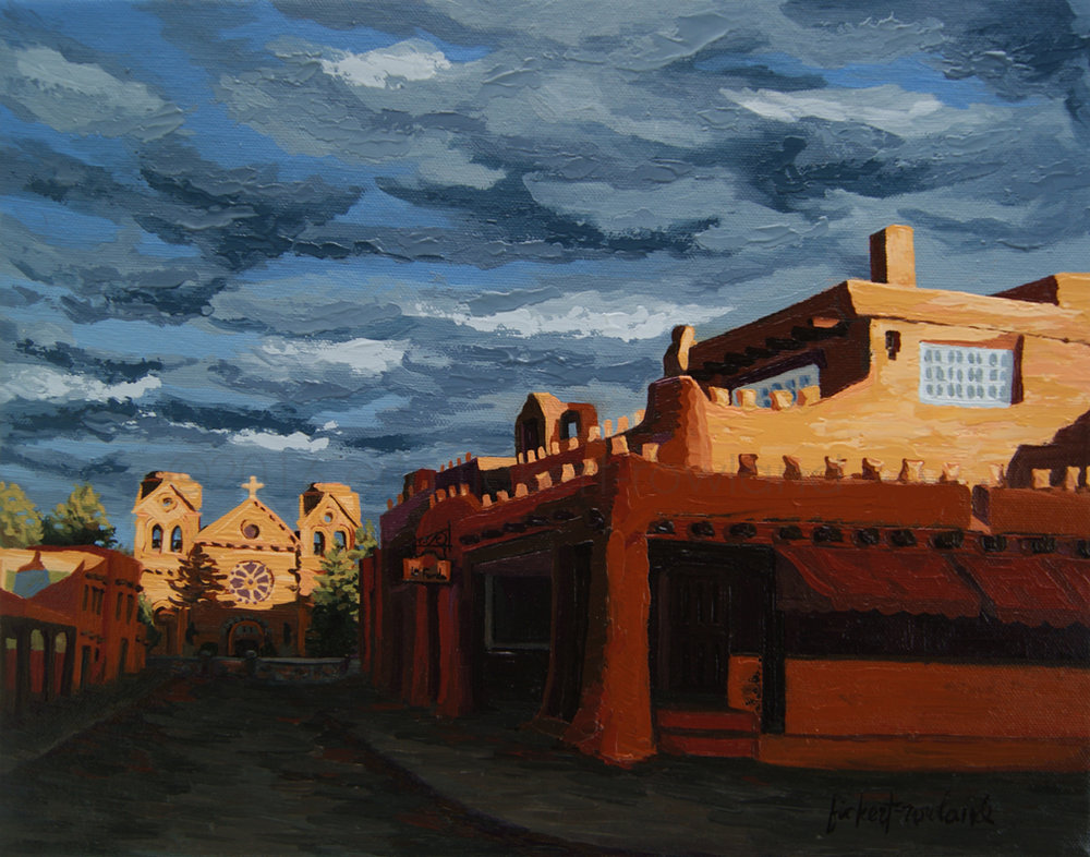 Los Farolitos, Santa Fe, NM (The Lanterns)