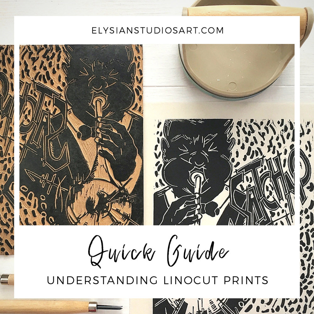 Quick Guide to Understanding Linocut Prints