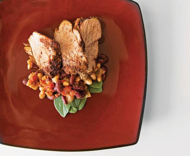 Spice-Rbbed Pork Tenderloin