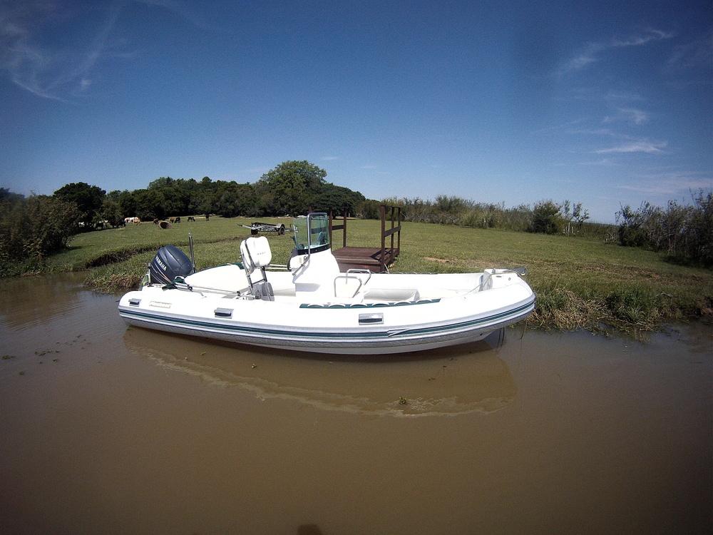 O Barco em seu ancoradouro