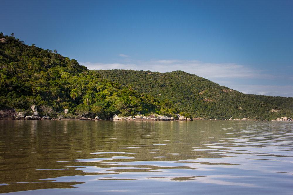 Praias do Parque Estadual de Itapuã