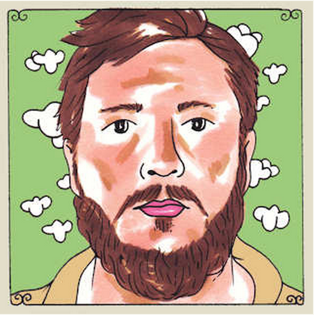 Daytrotter Session (10/07/2014) - Chris (solo) //  Drawing by: Johnnie Cluney