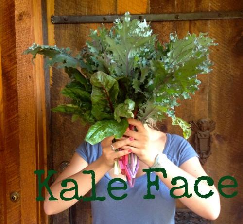 kale face