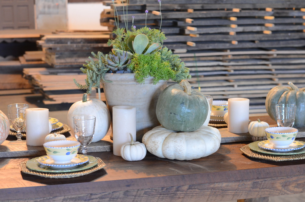 Fall Tablescape Home and Garden Show - Lucysinspired
