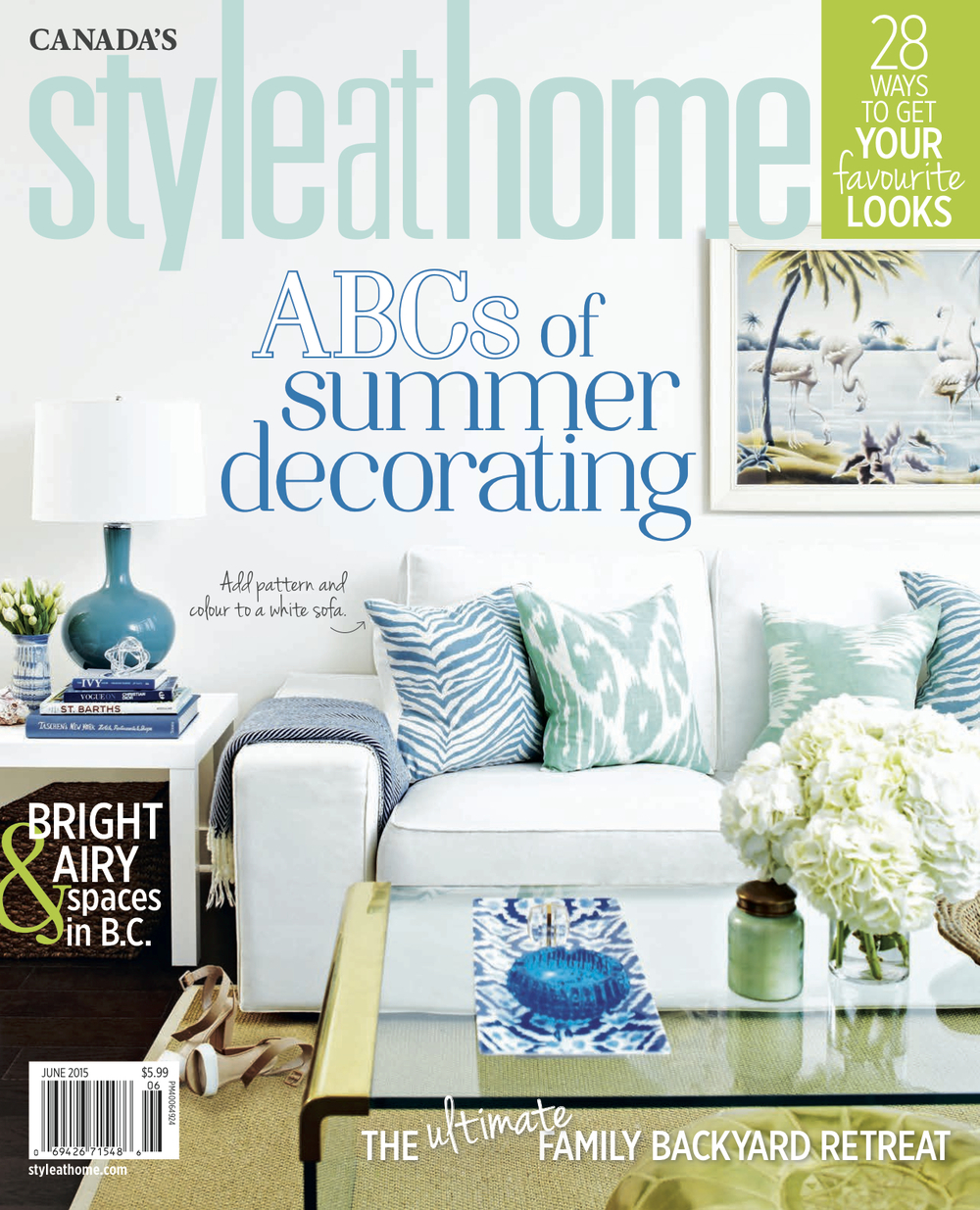 STYLE AT HOME June 2015 LAURA COLLINS DESIGN