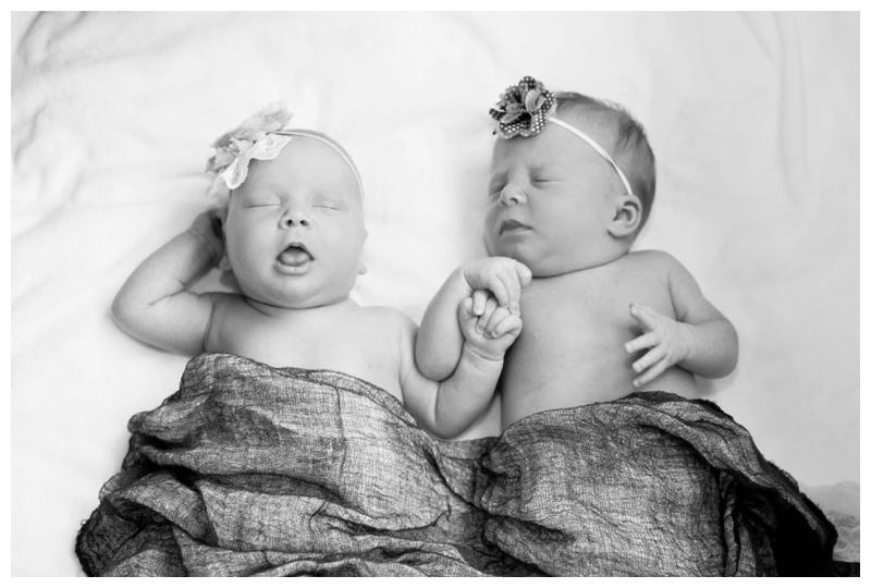 Lily & Leah Newborn Twins