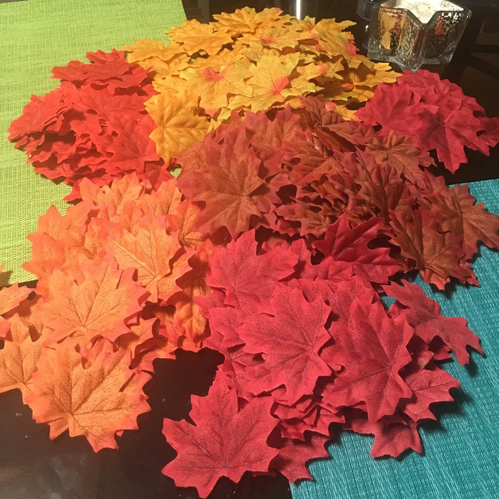 And here's the bundle of 300, after separating every single leaf.