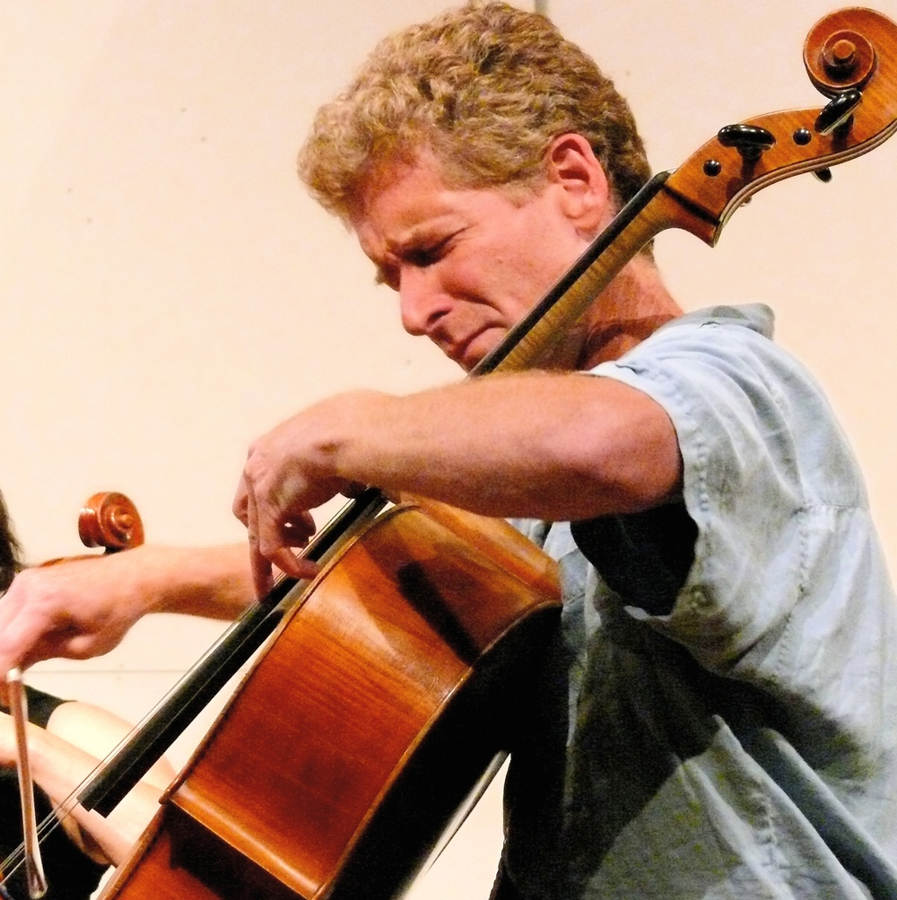 """Trevor Exter is a unique and powerful voice for our time. I have known him for over a quarter century and have seen him blossom as a singer, songwriter and modern cellist. Students will benefit a lot from his disciplined, holistic approach."" Chris White, Founder and Artistic Director of the New Directions Cello Festival"