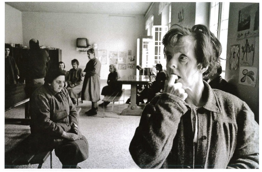 Ospedale psichiatrico. Gorizia, 1968.