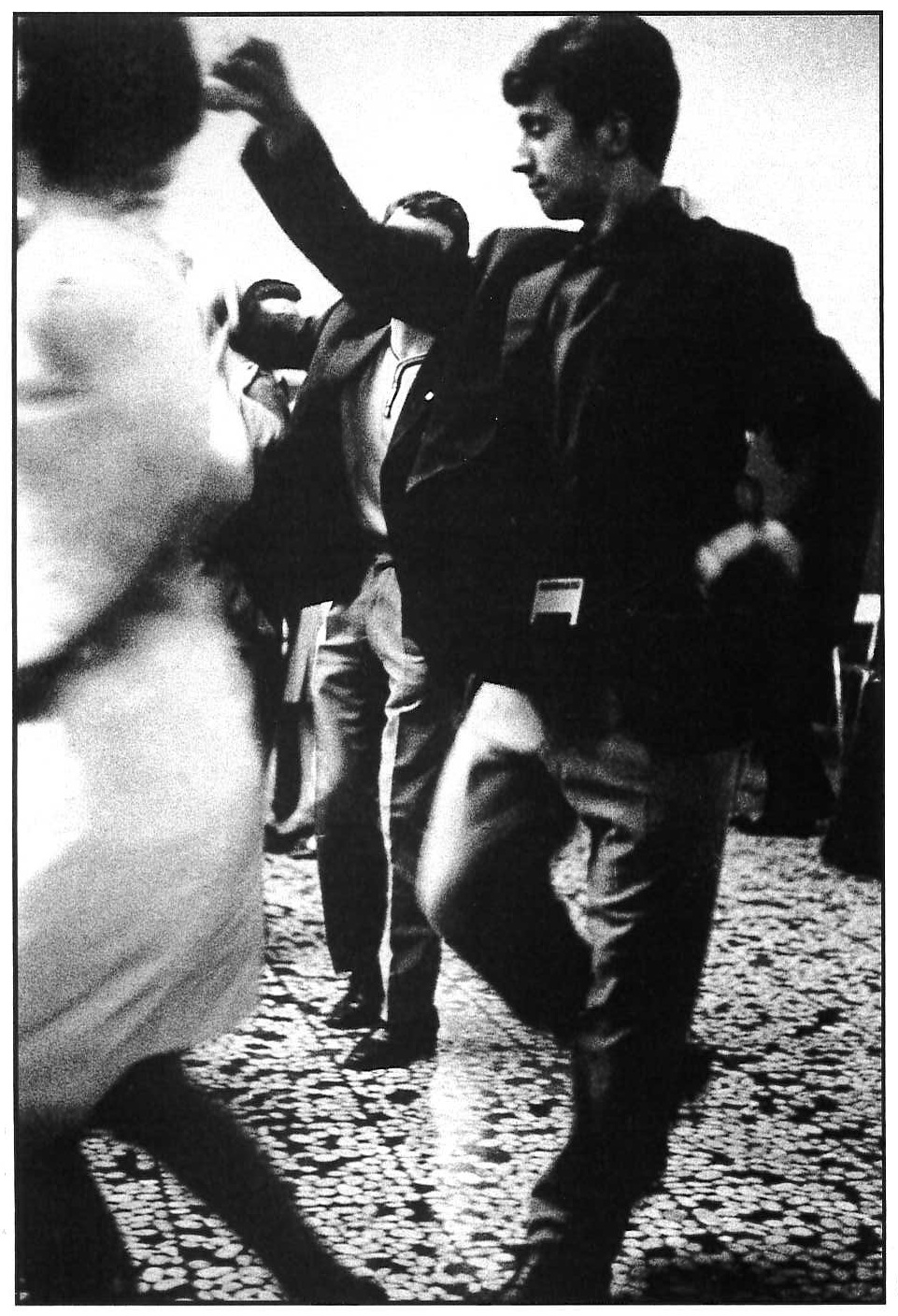 Dancing Apollo, via Procaccini. Milano, 1964.
