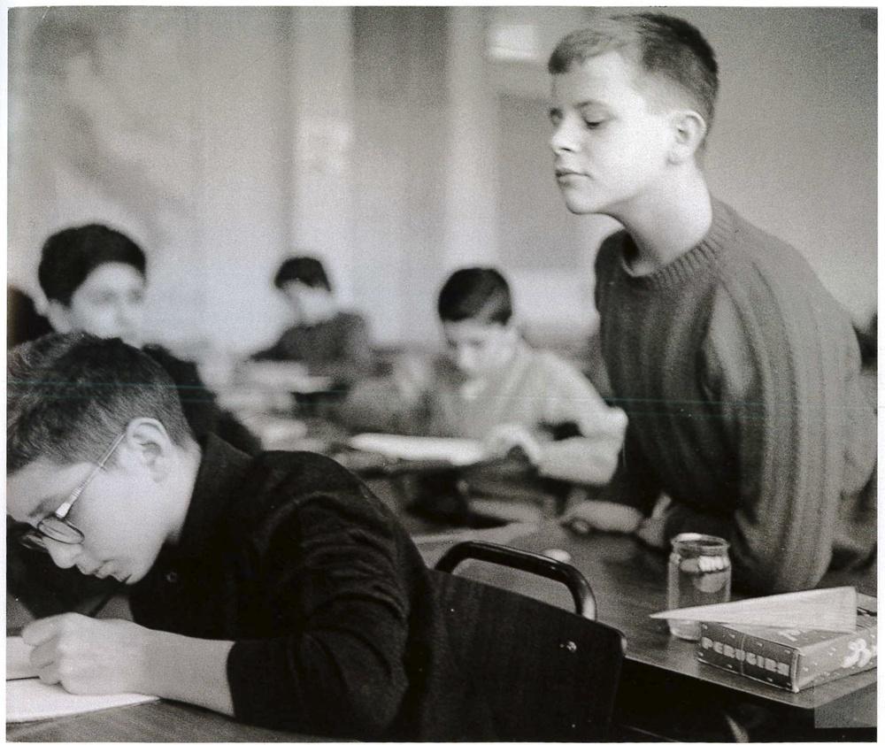 """""""Scuola Media"""". Milano, 1961."""