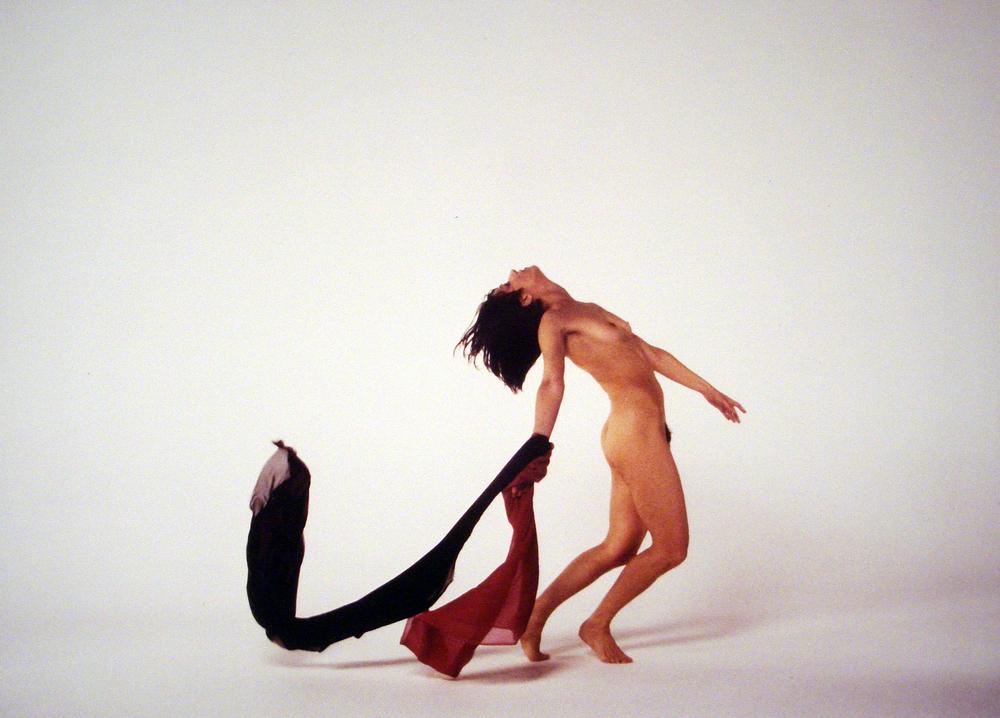"""""""Forma movimento colore"""", con Valeria Magli. 1987-1988."""