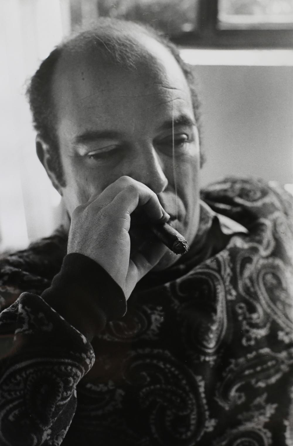 Jaime Gil de Biedma, poeta. Barcellona, 1971.