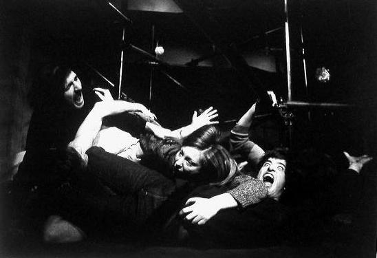 Spettacolo di Antonin Artaud, messo in scena da una compagnia teatrale di Bologna. Milano, 1967.