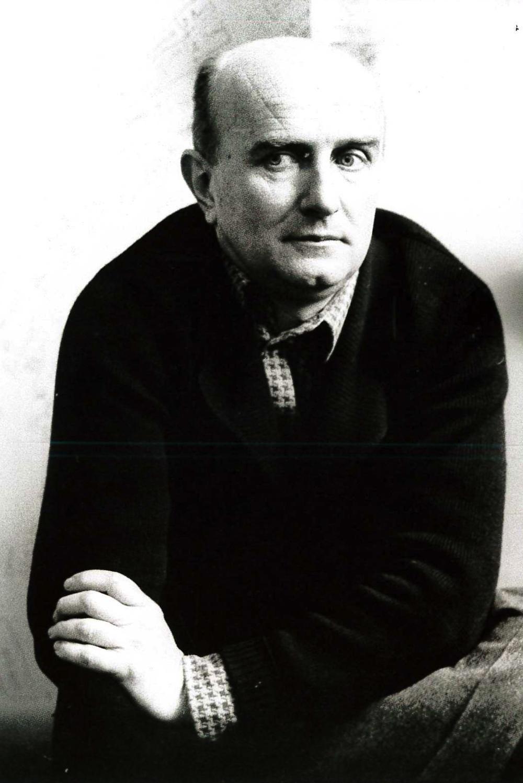 Giovanni Testori. Milano, 1974.