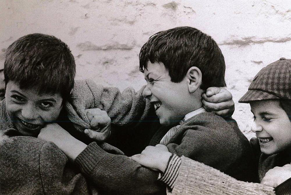 """Infanzia"". Matera, 1963."