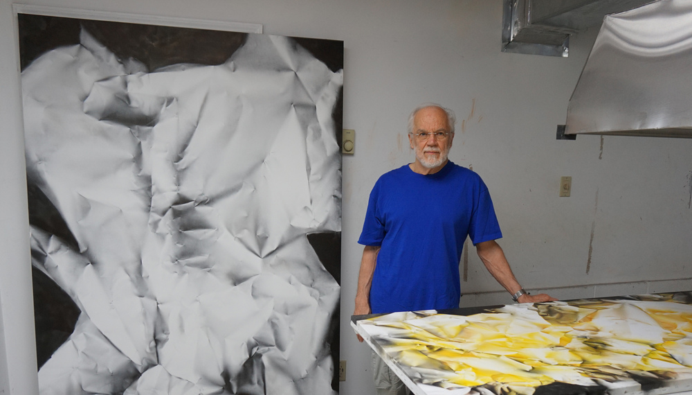 Copy of Artist at his studio