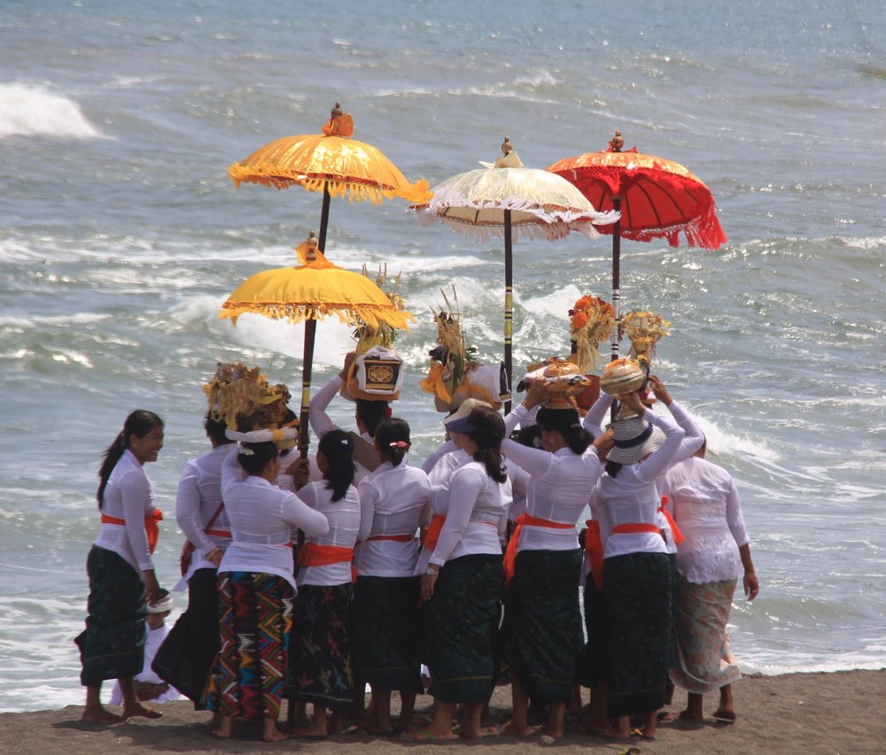 Image from the beach in Bali