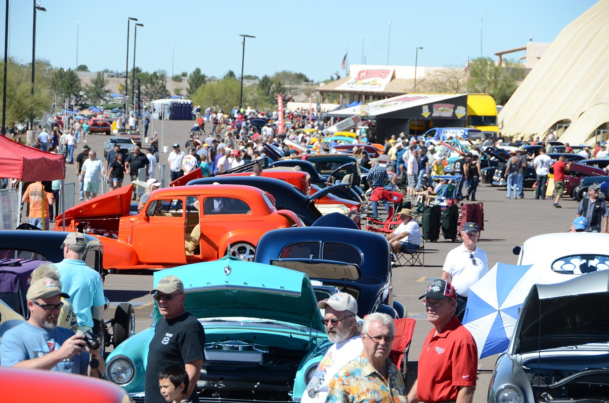 Goodguys Th Spring Nationals Car Show WestWorld Of Scottsdale - Scottsdale car show today