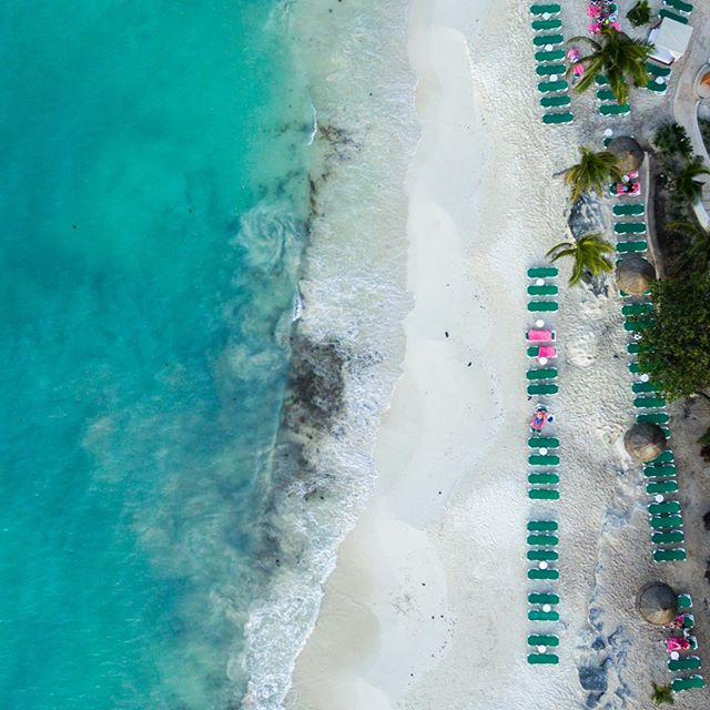 Beach Life - Cancun, Mexico #dronedose