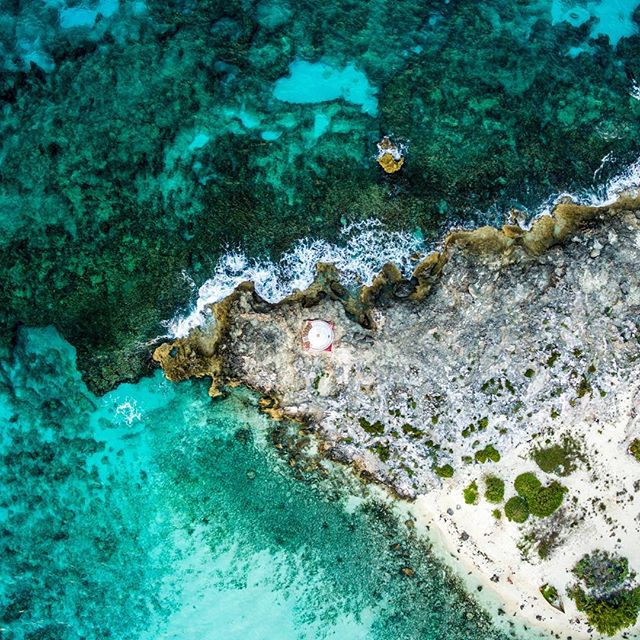 Color tones of Cancun - Mexico #dronedose