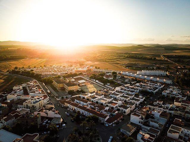Shine - Villamartin, Spain #dji #mavicpro #spain #sunset #fromwhereidrone #dronestagram