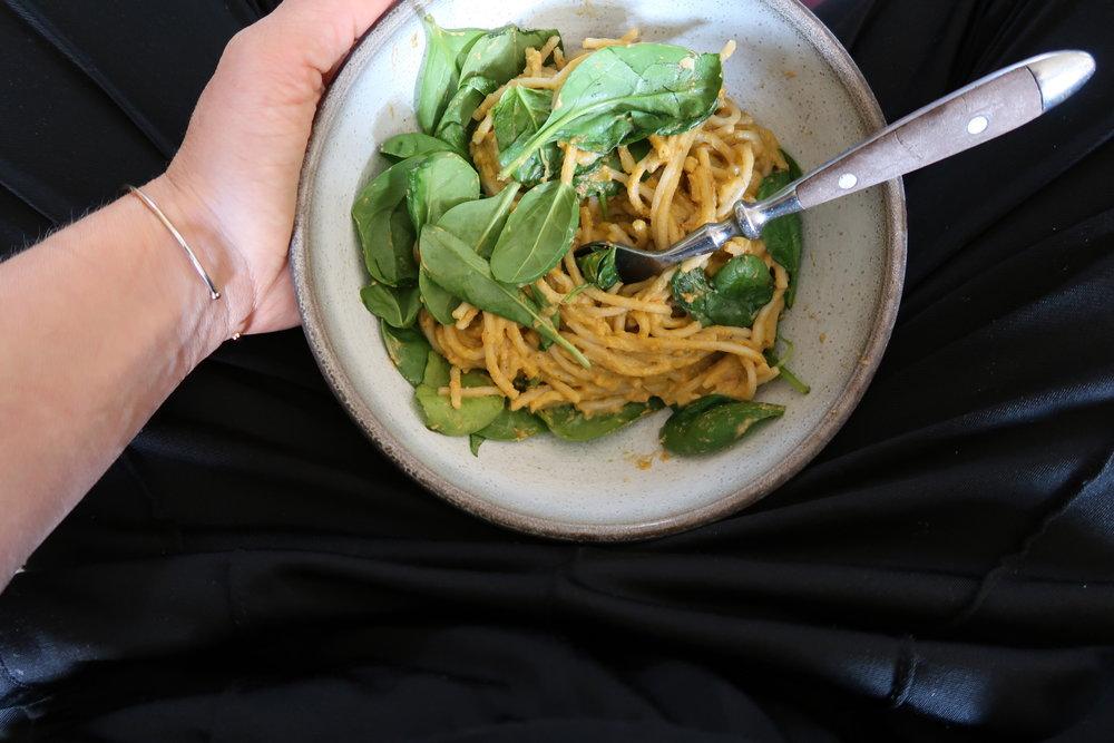 nocheese pasta soulfood