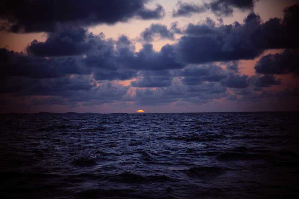 Deep Sea Sunset
