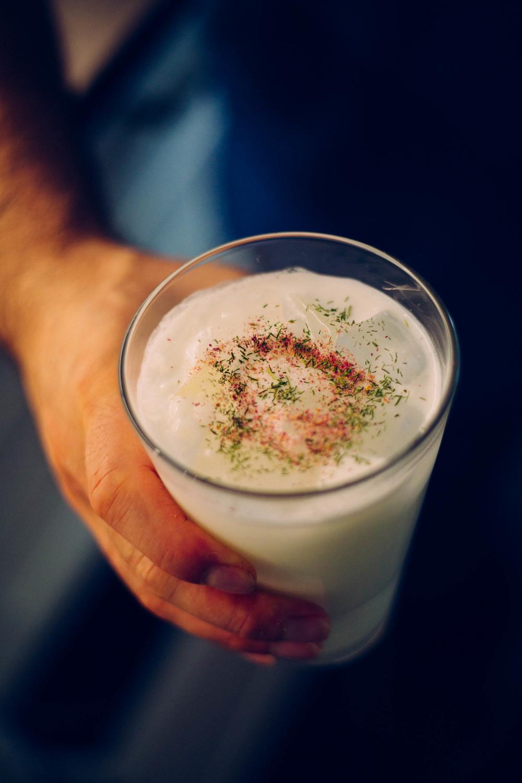 Doogh -is a savory Persian yogurt-based drink
