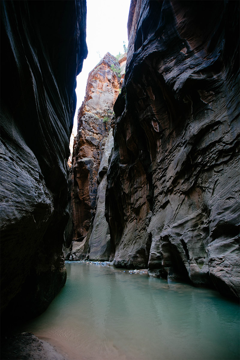 A truly memorable experience hiking in the Narrows