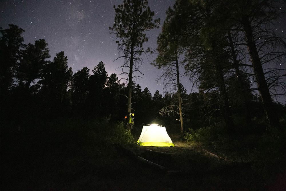 Campsite on West Rim