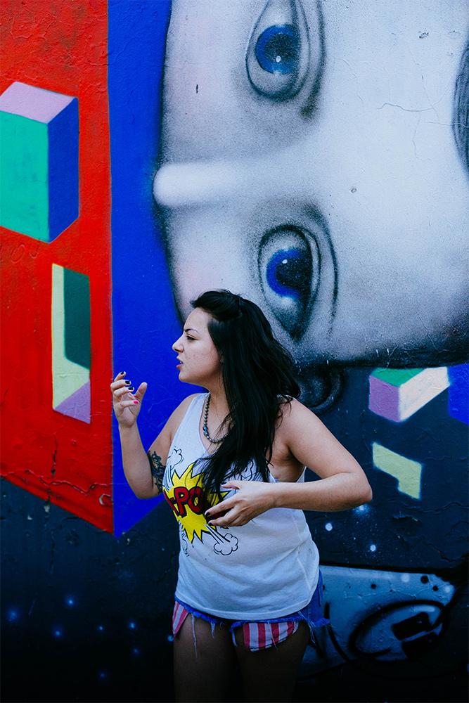 Passion of a Graffiti artist