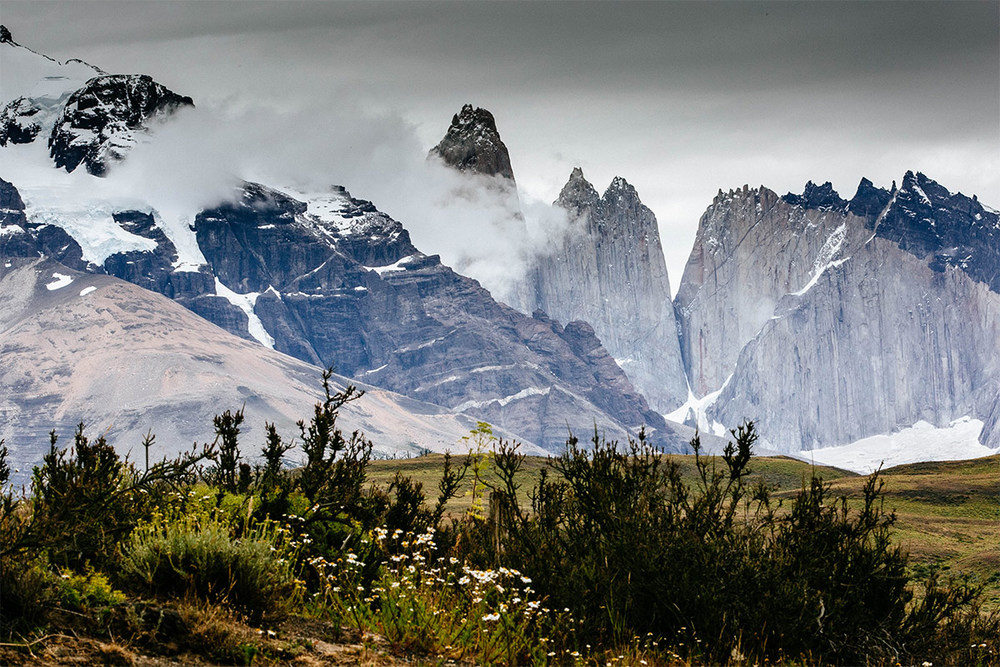 One last shot of Torres Del Paine before jumping on the bus back to Puerto Natalas