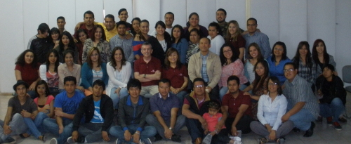 Part of our student group in Juarez, Mexico