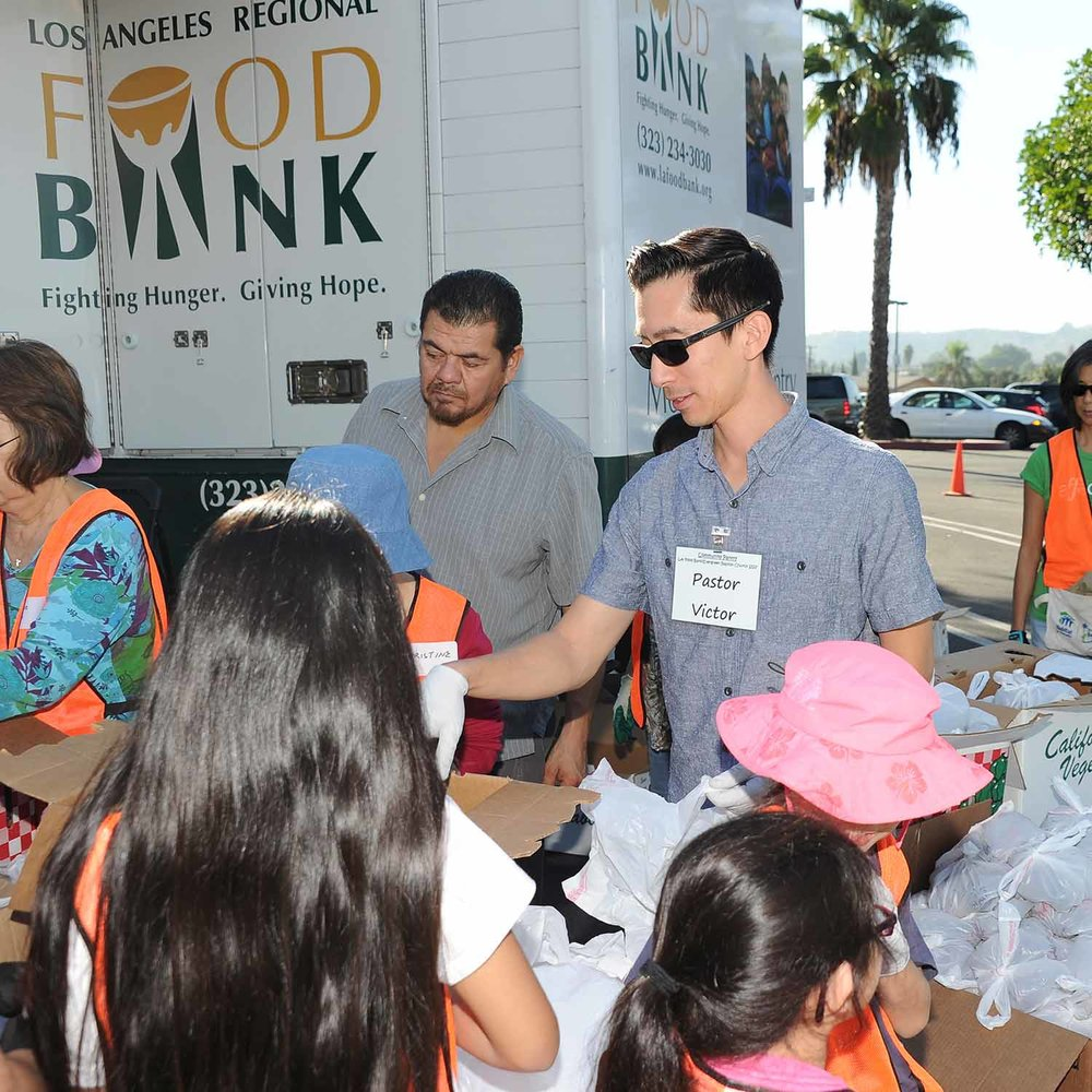 SERVING MINISTRIES - Jesus was the greatest example of a loving servant. As we grow to become more like Christ, we understand that we also must learn to serve. At Evergreen SGV we have many ministries that focus on serving our own church body as well as our surrounding community.
