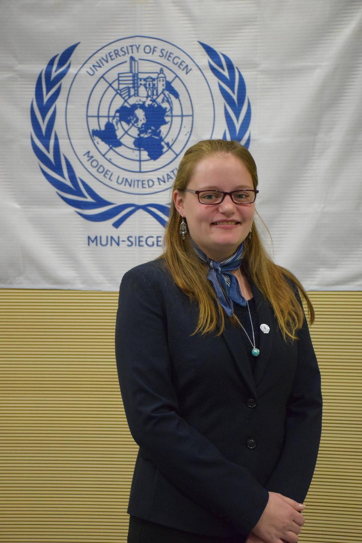 Head Delegate  Miriam Holtkamp