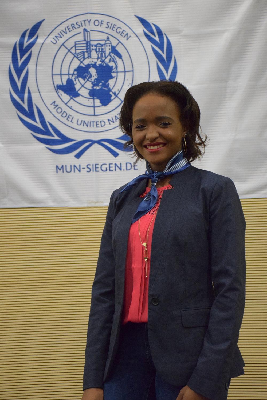 Head Delegate  Evelyne Kadesa