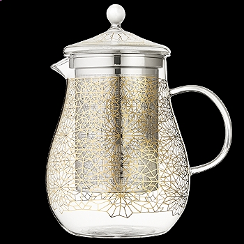 Babylon Blossoms Goldstar Teapot Large  | T2