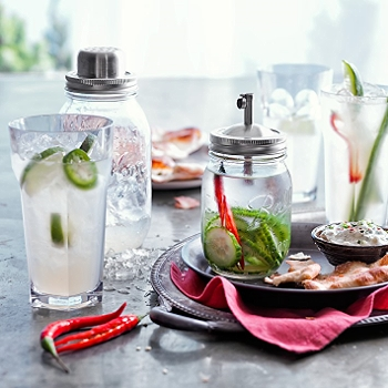 Mason Jar Infuser  | William Sonoma