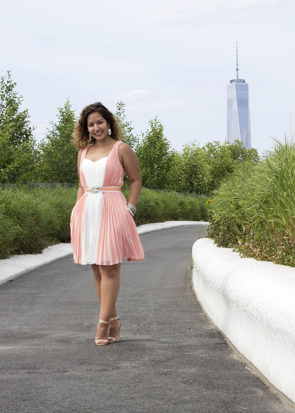 Coral Dress www.krityshrestha.com