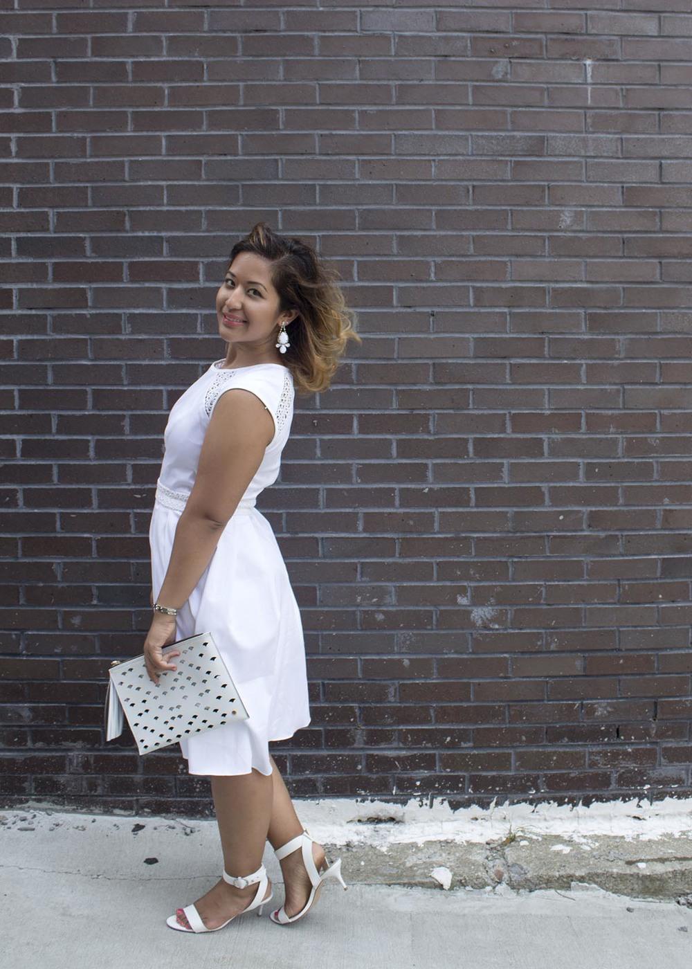 Little White Dress www.krityshrestha.com