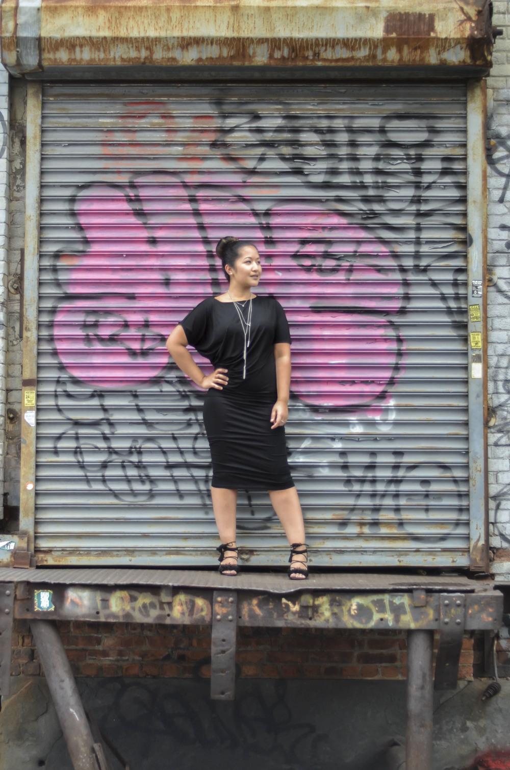 Black Jersey Dress www.kritys.com