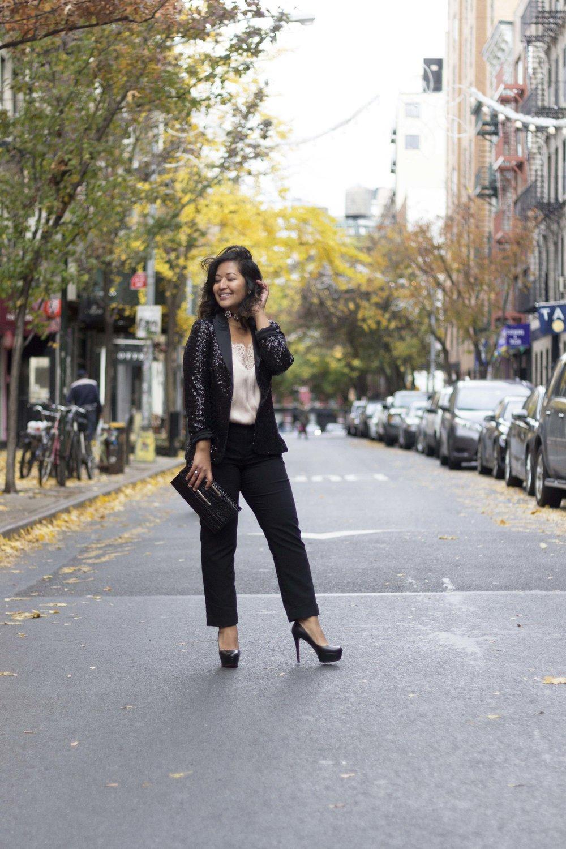 NYE Sequin Blazer www.kritys.com