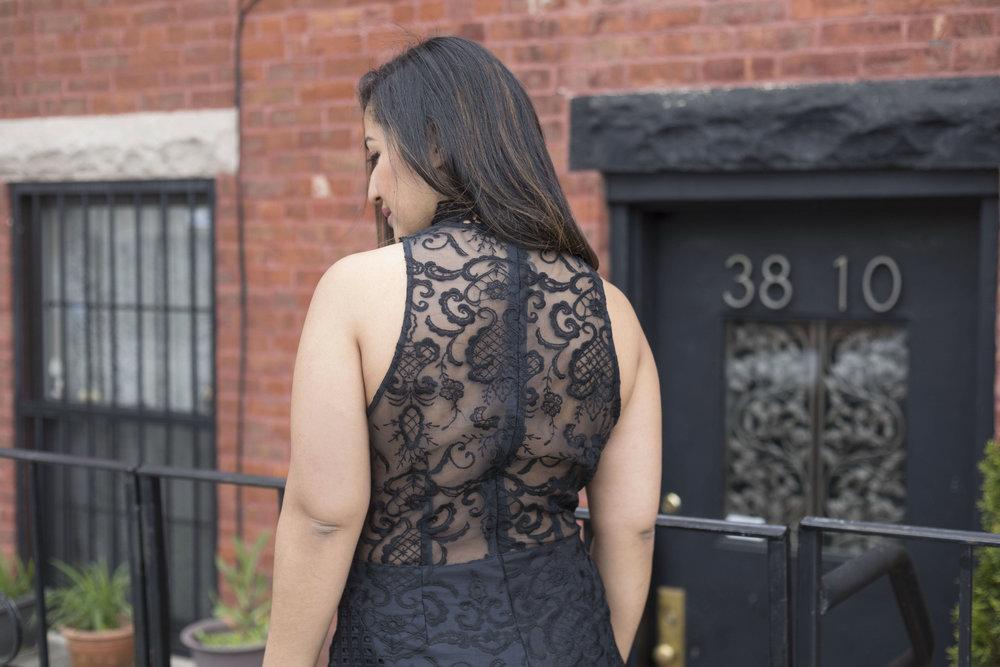 Krity S x Tobi x Lace Little Black Dress