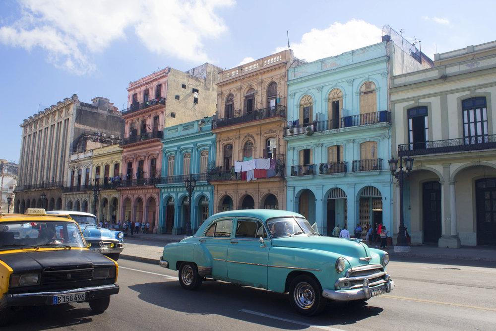 Cuba- Central Havana-Paseo del Prado