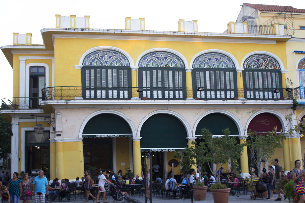 Plaza Vieja- Havana, Cuba