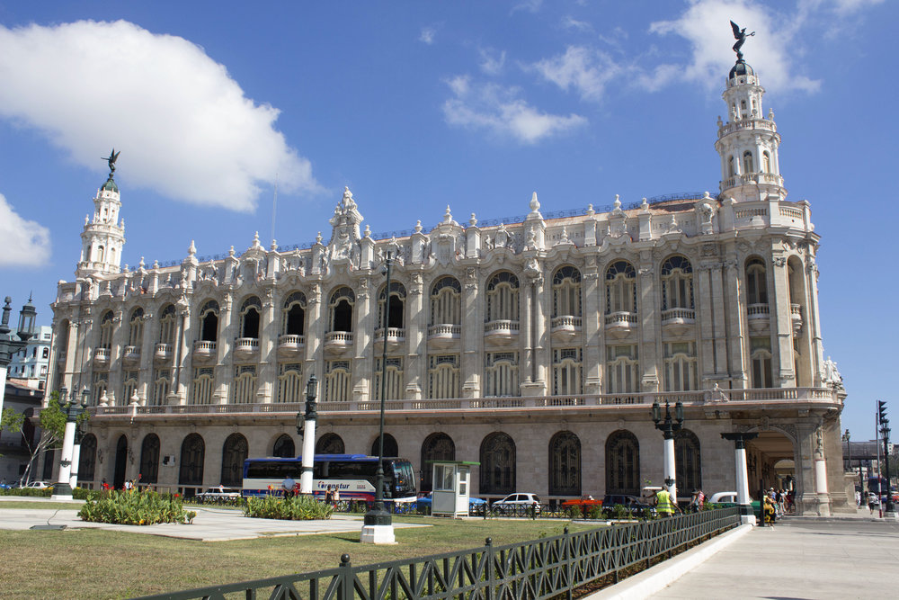 Hotel Inglaterra- Havana, Cuba