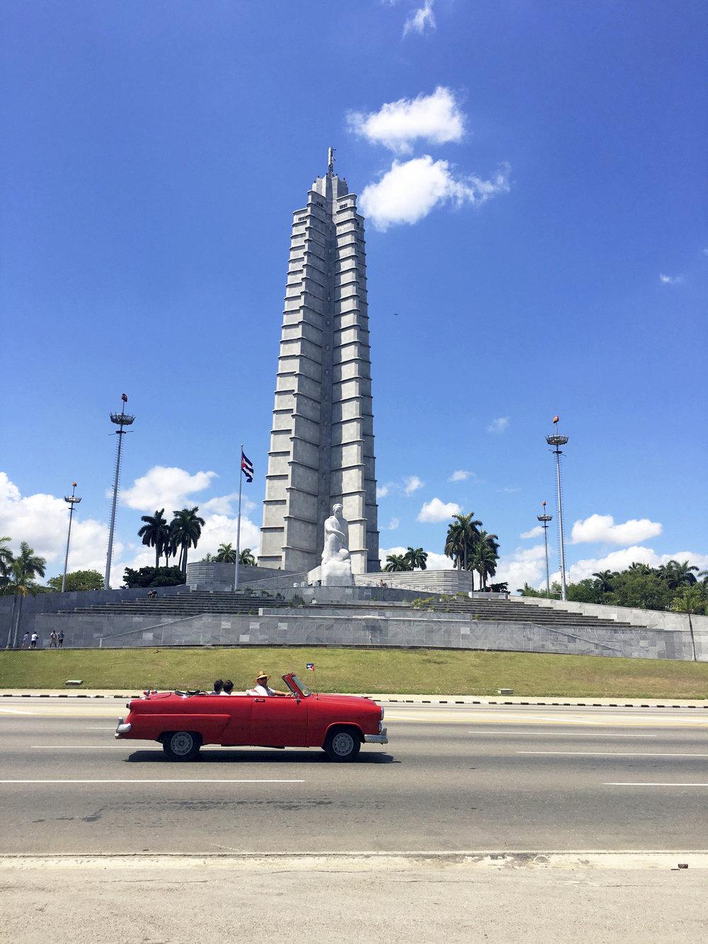 Cuba- Havana- José Martí Memorial