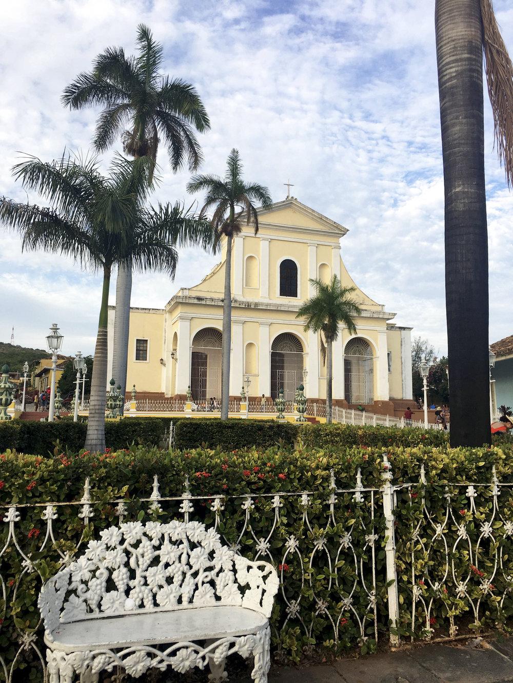 Cuba- Trinidad- Plaza de Armas