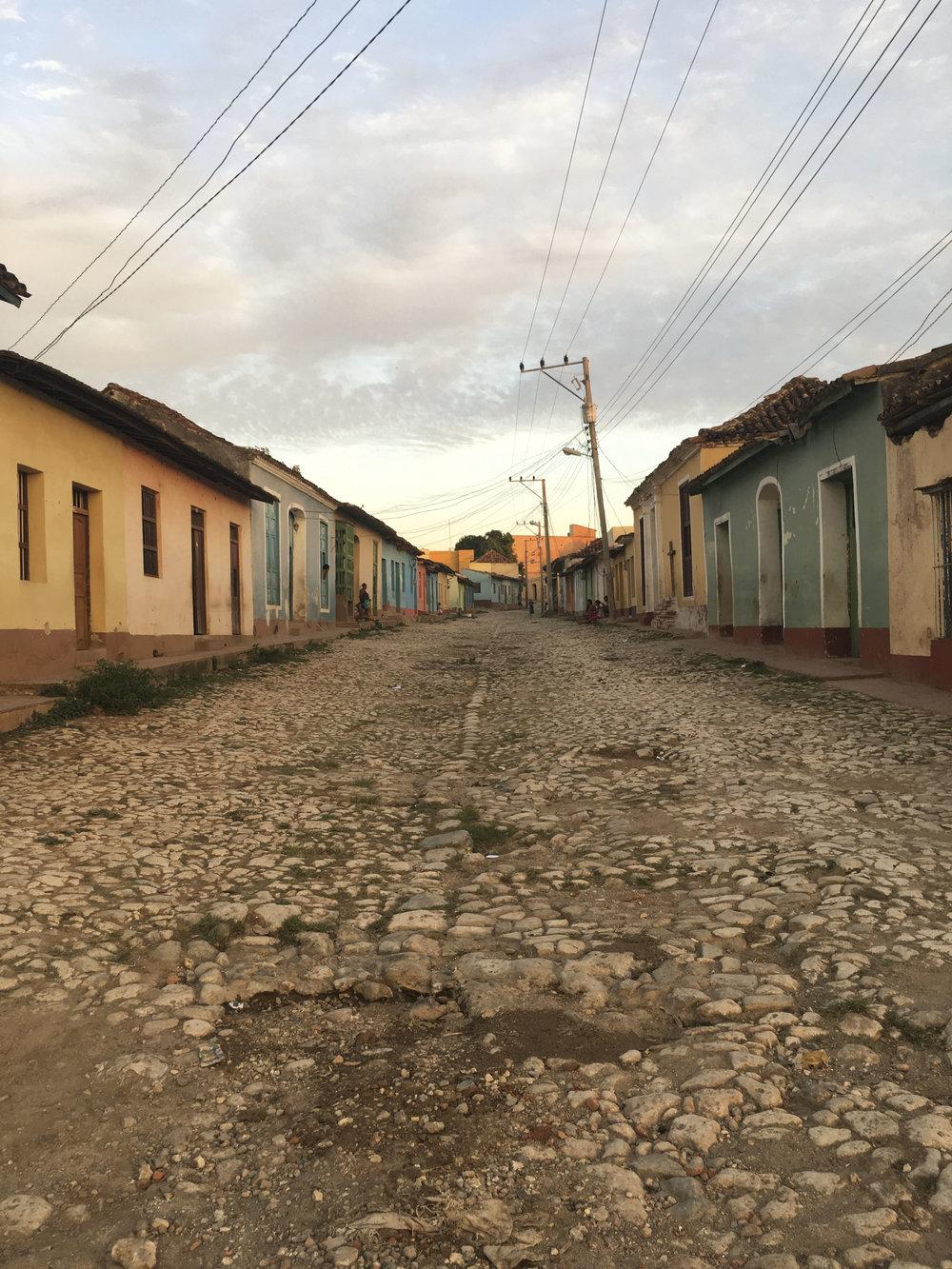 Cuba- Trinidad- Local streets